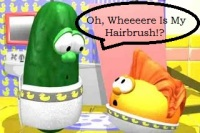 Larry's hairbrush song