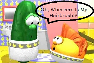 Larry's hairbrush song